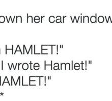 Yay Hamlet! Sticker