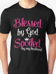 Blessed by God T-Shirt