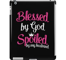Blessed by God iPad Case/Skin
