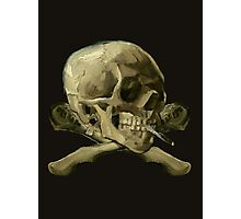 Masterpiece Skull Van Gogh Photographic Print