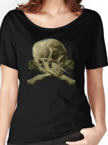 Masterpiece Skull Van Gogh Women's Relaxed Fit T-Shirt