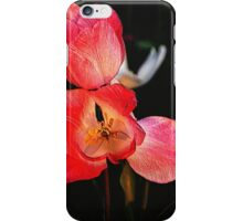 Embossed Tulips iPhone Case/Skin
