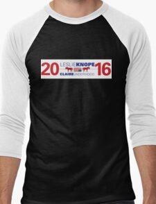 Knope/Underwood 2016 Men's Baseball ¾ T-Shirt
