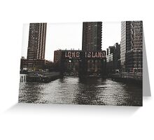 Long Island Greeting Card