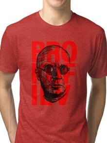 Brokofiev in Red Tri-blend T-Shirt