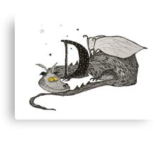 D is for Dragon Canvas Print