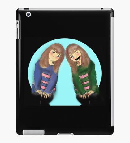 Frisk and Chara iPad Case/Skin