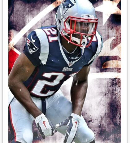 "Malcolm ""Super Bowl Hero"" Butler Sticker"