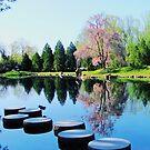 Springtime at Maymont  by ANNABEL   S. ALENTON