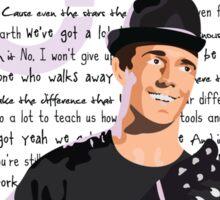 Jason Mraz Lyrics Sticker