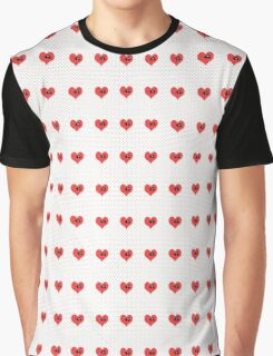 Heart Puzzle (white) Graphic T-Shirt