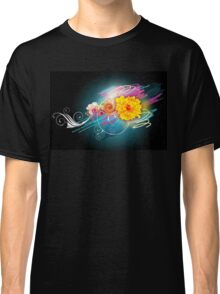 Flower Vector Classic T-Shirt