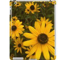 yellow flower power iPad Case/Skin