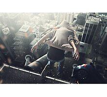 Jump roof skyscraper Photographic Print
