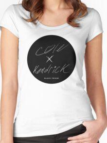 J. Cole & Kendrick Lamar - Black Friday Women's Fitted Scoop T-Shirt