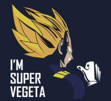 I'm Super Vegeta Kids Tee