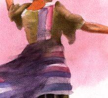 Filipino Dancer 01 Sticker