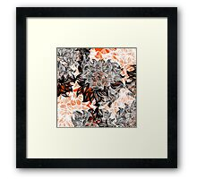 floral abstraction Framed Print
