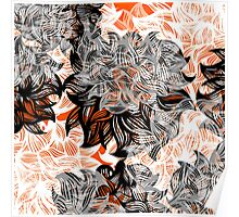 floral abstraction Poster