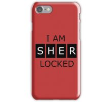 Sherlock Quote iPhone Case/Skin