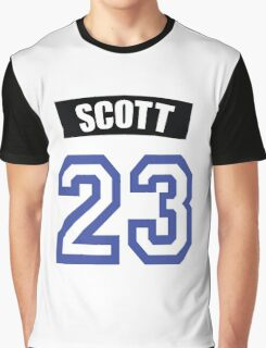 One Tree Hill Nathan Scott Jersey Graphic T-Shirt