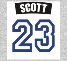 One Tree Hill Nathan Scott Jersey One Piece - Long Sleeve