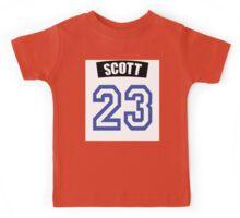 One Tree Hill Nathan Scott Jersey Kids Tee