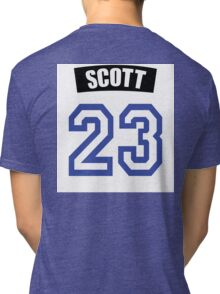 One Tree Hill Nathan Scott Jersey Tri-blend T-Shirt