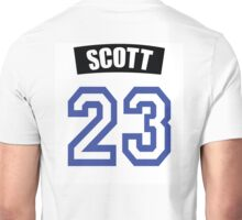 One Tree Hill Nathan Scott Jersey Unisex T-Shirt
