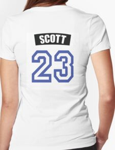 One Tree Hill Nathan Scott Jersey Womens Fitted T-Shirt