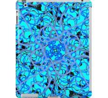 azure floral iPad Case/Skin