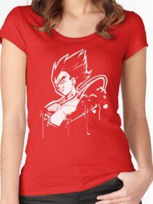 Vegeta Saiyan Women's Fitted Scoop T-Shirt