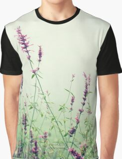 Floral Mist  Graphic T-Shirt