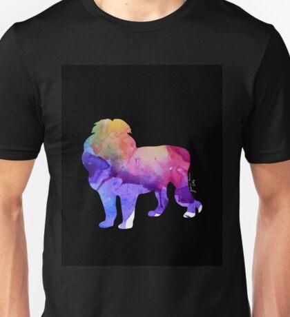 Watercolor Lion Unisex T-Shirt