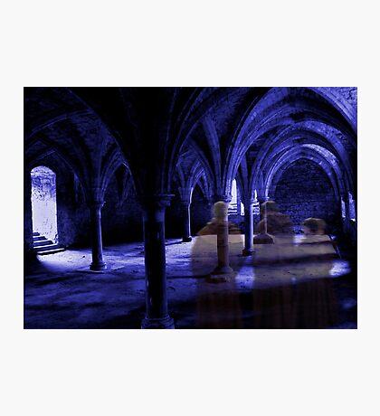 Apparitions at Prayer Photographic Print