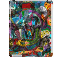 Every thought can change the day when let out in joyful play iPad Case/Skin