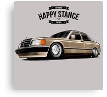 Happy Stance Mercedes Canvas Print