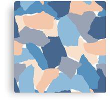 Paper Collage Canvas Print