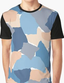 Paper Collage Graphic T-Shirt