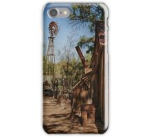 Old Farm and Windmill iPhone Case/Skin