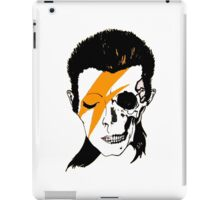 David Bowie Skull Original Aladdin Sane Artwork iPad Case/Skin