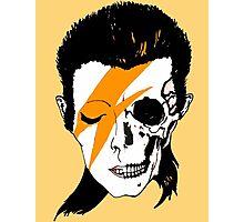 David Bowie Skull Original Aladdin Sane Artwork Photographic Print