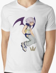 Bat Riku - Kingdom Hearts Mens V-Neck T-Shirt