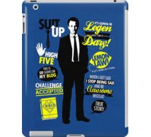 How I Met Your Mother - Barney iPad Case/Skin