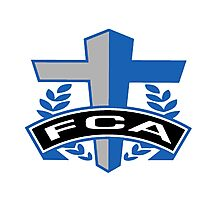 FCA - Air Force Academy Colors Photographic Print