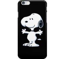 snoopy funny tears iPhone Case/Skin