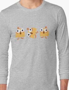 Triple Chick Long Sleeve T-Shirt