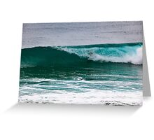 Duranbah Cover Up Greeting Card