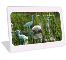 .Individuality Is Healthy Laptop Skin