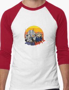 Ablejamz Logo (Sunset) Men's Baseball ¾ T-Shirt